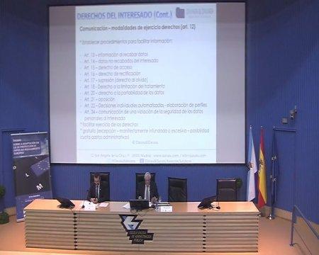 Intervención de Miguel Ángel Davara (parte 2) - Xornada sobre a adaptación da Lei de protección de datos ao regulamento europeo